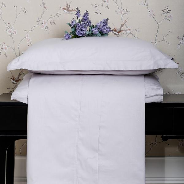 Пододеяльник LUXURY LINENS Basic Line Grey 1.5 160x220
