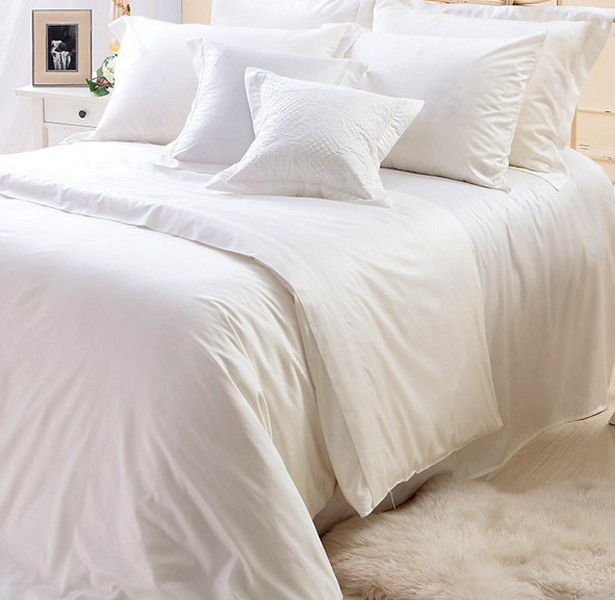 Пододеяльник LUXURY LINENS Tencel MILK