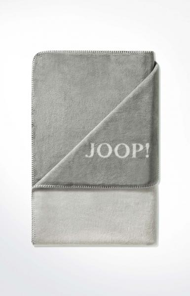 Плед  JOOP! UNI-DOUBLEFACE 564382 Graphit-Rauch