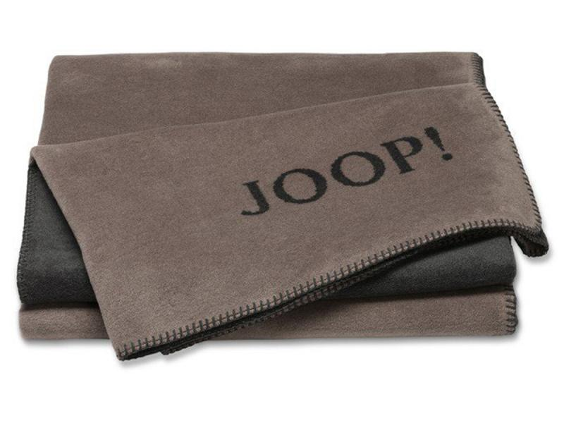 Плед  JOOP! UNI-DOUBLEFACE 631381 Taupe-Anthrazit