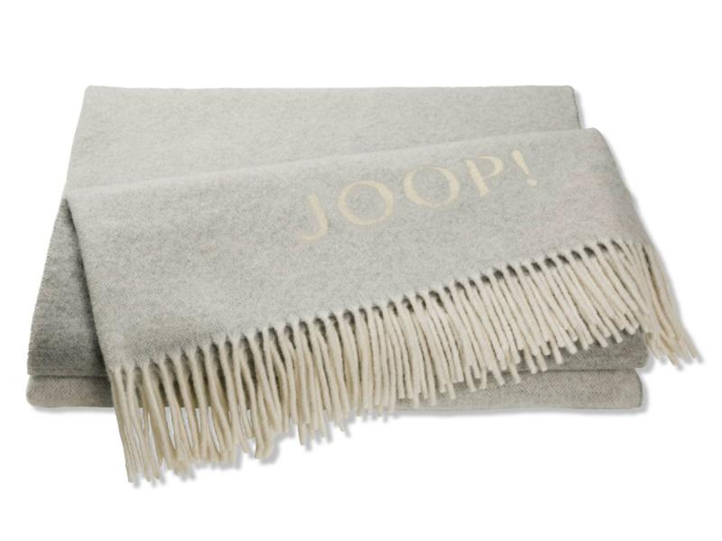 Плед  JOOP! FINE-DOUBELFACE 739858 Silber-Natur
