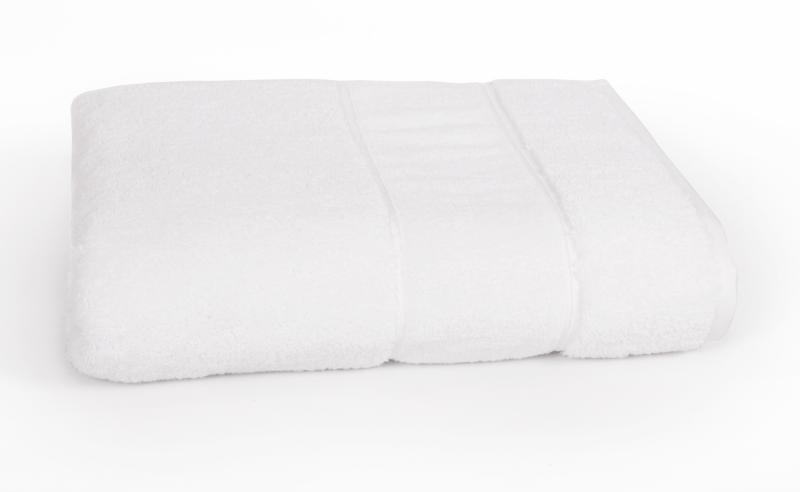 Полотенце LUXURY LINENS Basic Line WHITE